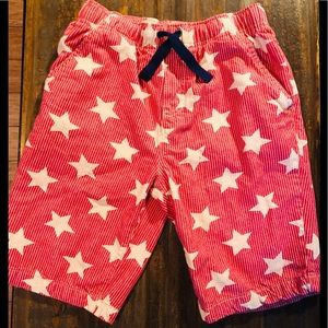 Boden star shorts red sz